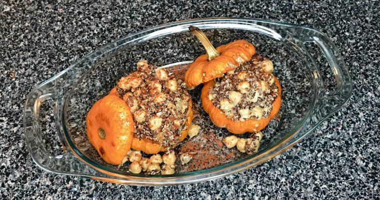 Quinoa stuffed Pumpkin