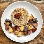 Couscous-Farro Mix with Fingerling Potatoes