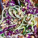 Warm Quinoa Salad with Zucchini Noodles