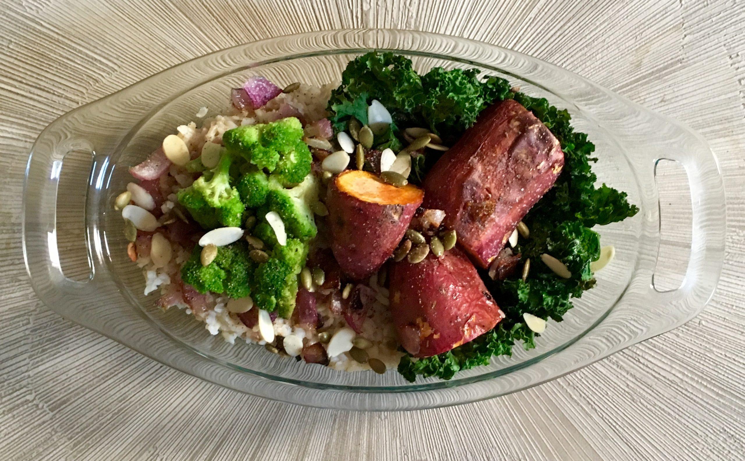 Rice Veggie Bowl