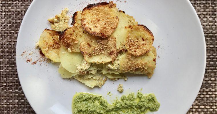 Sweet Potato-Pesto Lasagna