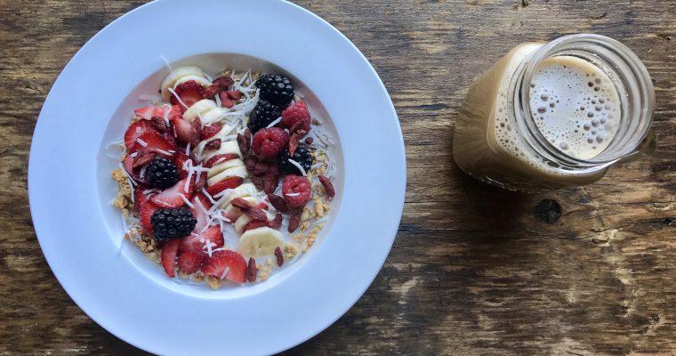 Coconut Yogurt with Cereals