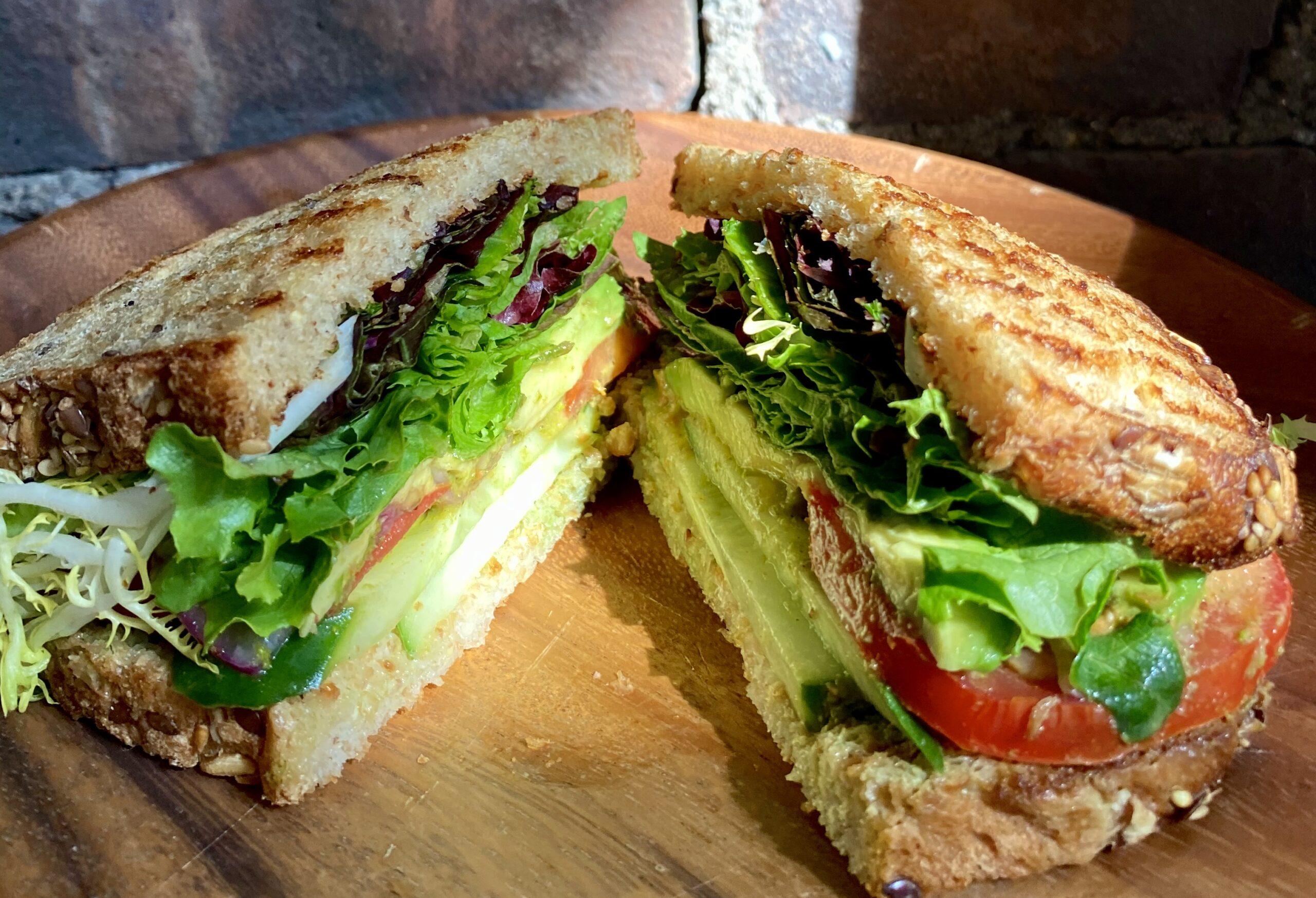 Fresh Garden Sandwich